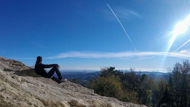 Do alto do Monte Titano